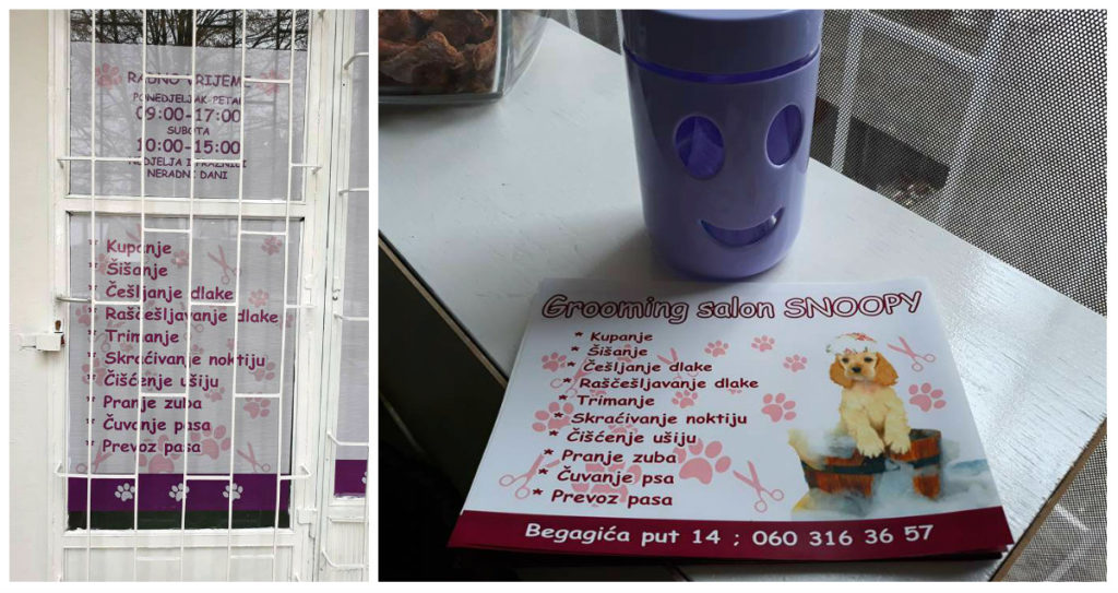 Grooming salon Snoopy Zenica