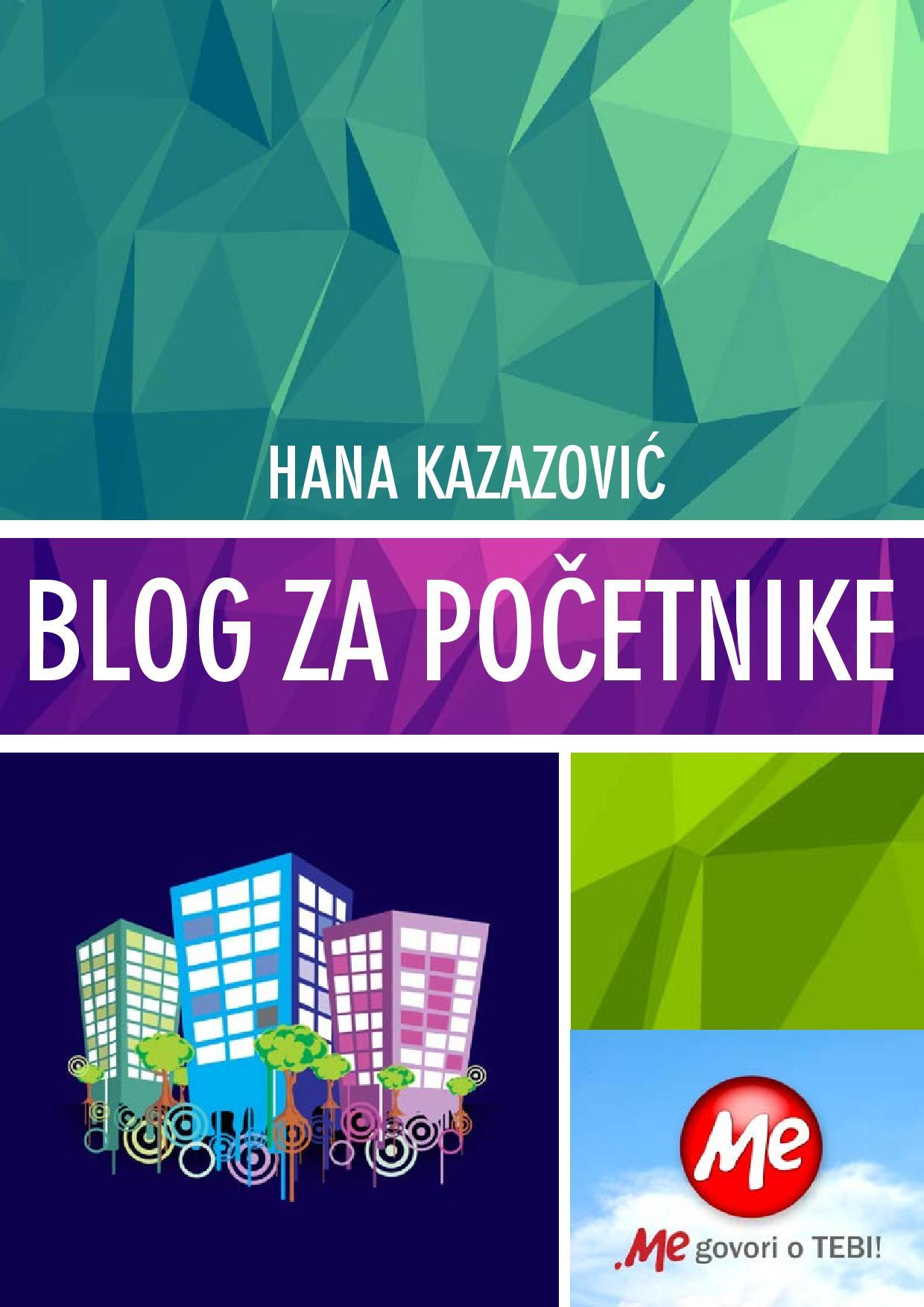 """E-knjiga """"Blog za početnike"""" #blogzapočetnike"""