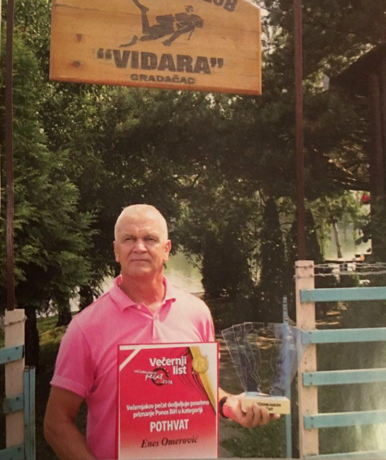 "Enes Omerović – Gradačac: The greatest value of the diving club ""Vidara"" are people"