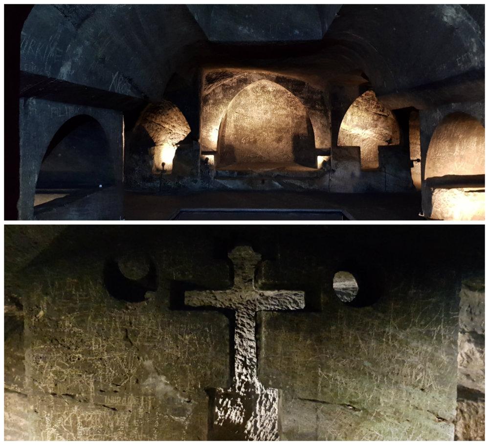 Podzemna crkva - katakombe u jajcu