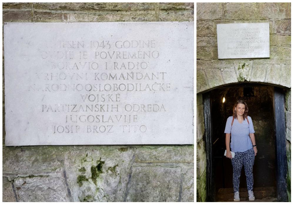 Ulaz u podzemnu crkvu - katakombe u jajcu