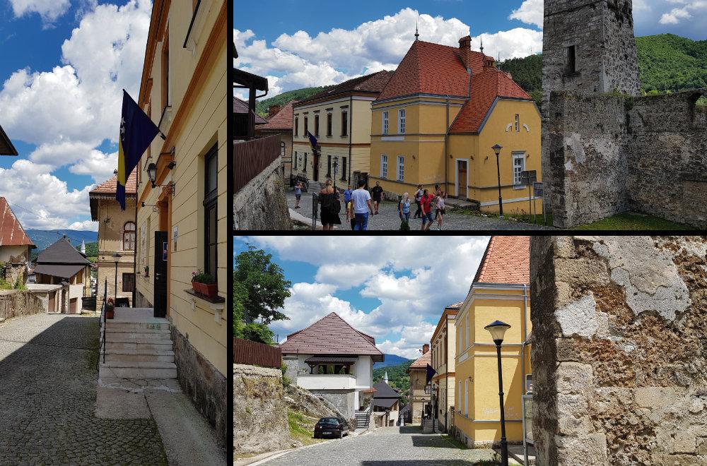 Austrougarske zgrade u Jajcu