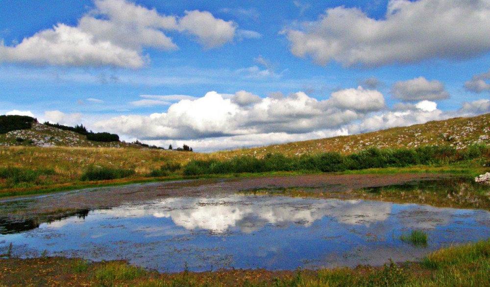 Rumbočko jezero na Raduši