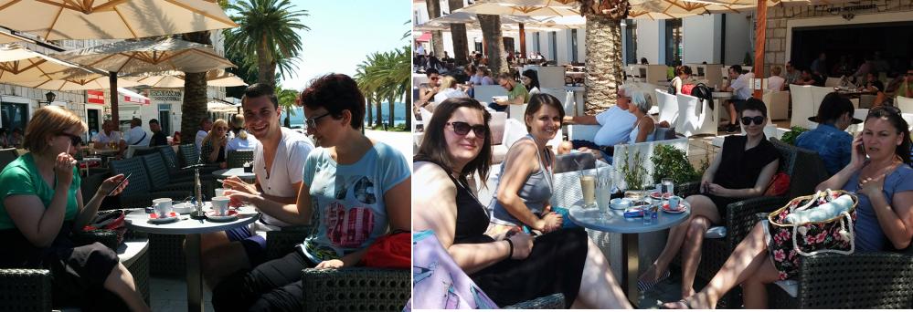 Na kafi u Porto Montenegro