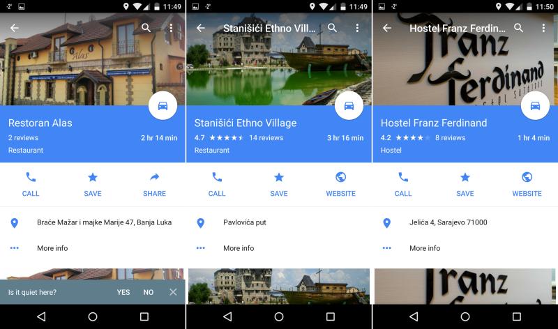 google lokacije