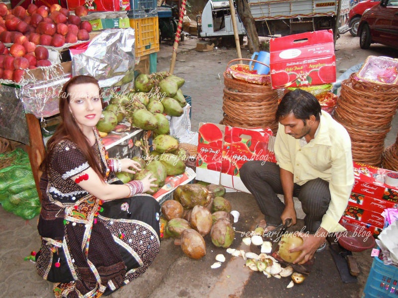 kokosov orah indija vegetarijanstvo logo