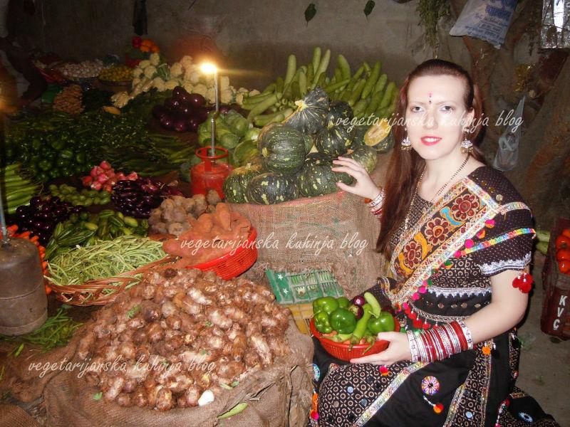 povrce vegetarijanstvo indija logo